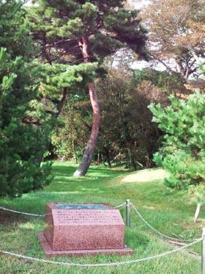 東北ヨット発祥の地 碑